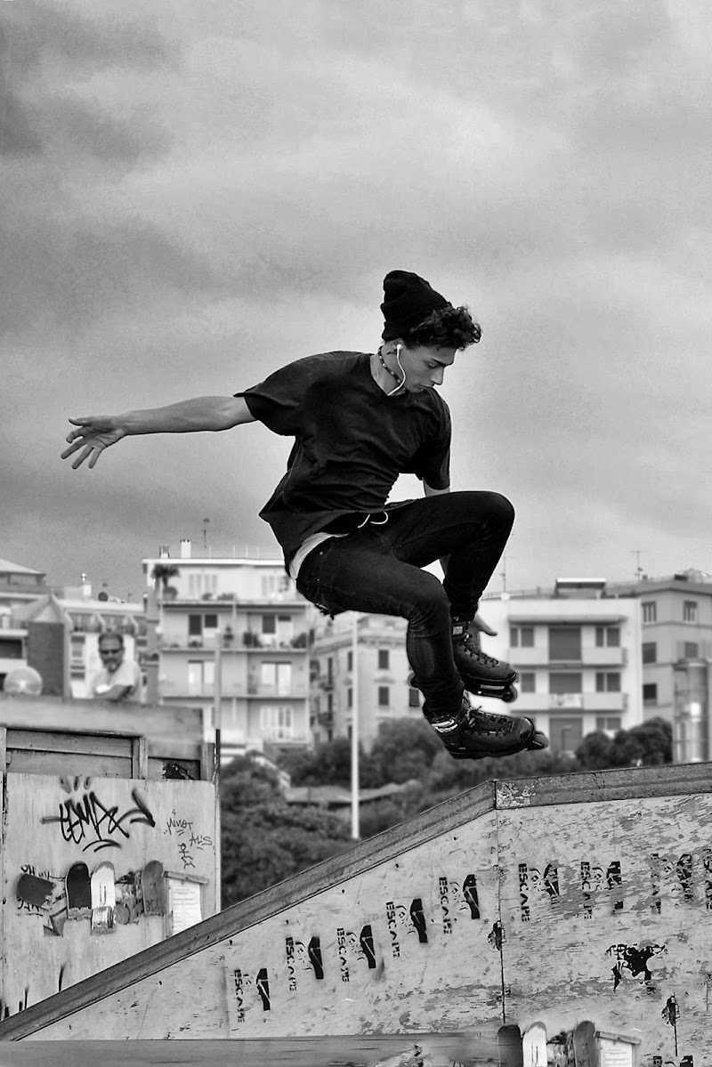 il salto di Elisabetta Castellano