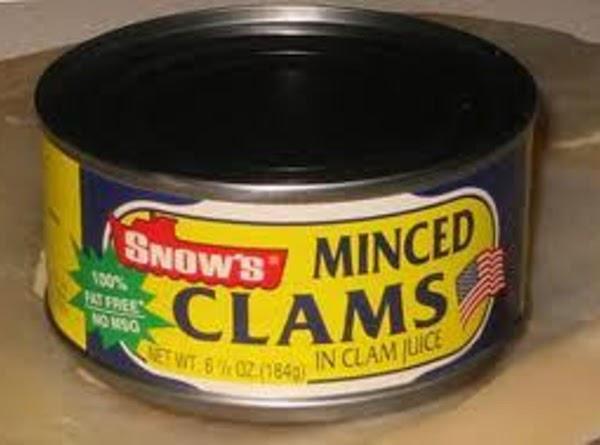 Mix cream cheese, clams, tabasco sauce, salt & pepper, onion, and lemon juice until...
