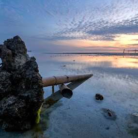 Fallen by Geoffrey Wols - Landscapes Sunsets & Sunrises ( siquijor island, tropics, paradise, clouds, philippines, water,  )