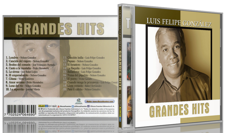 Luis Felipe González - Grandes Hits (2014) [MP3 @320 Kbps]