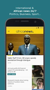 Africanews - Daily & Breaking News in Africa Screenshot