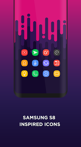 Aspire UX S9 - Icon Pack app (apk) free download for Android/PC/Windows screenshot