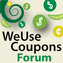 WeUseCoupons Coupon Forum icon