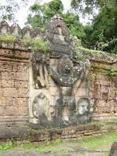 Photo: Preah Khan, a temple built to honor the Hindu God Shiva.