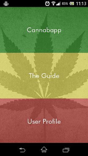 Cannabapp! screenshot for Android