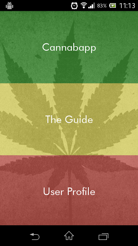 Cannabapp!- screenshot
