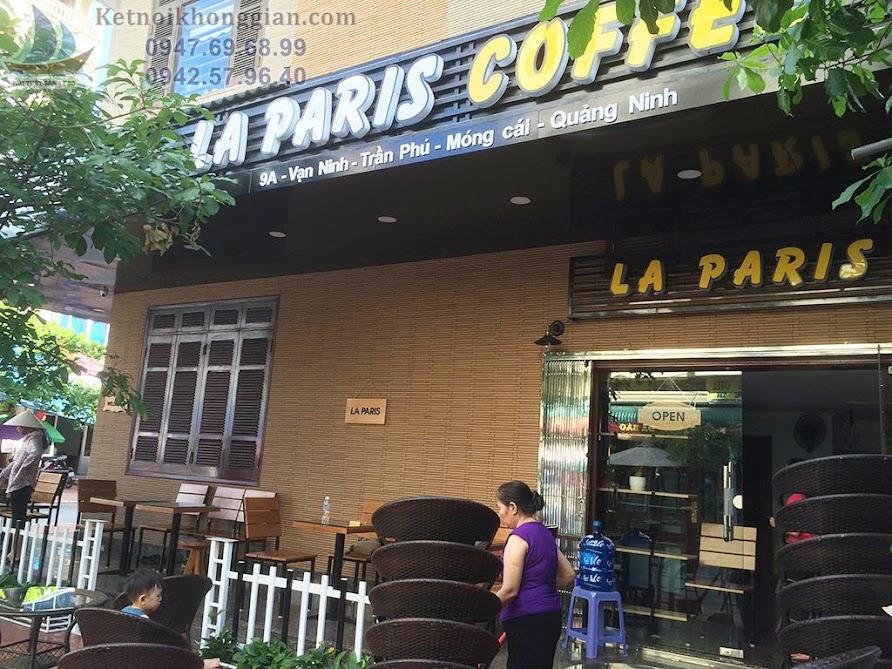 thiết kế quán cafe nhỏ, thi công quán cafe chất lượng cao
