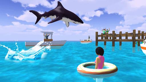 Beach Shark Simulator