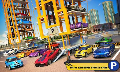 Multi Car Parking Mania: Smart Crane Driving Games 1.1 screenshots 1