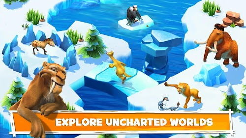 Screenshot 2 Ice Age Adventures 2.0.8d APK MOD