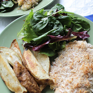 Coconut Crusted Tilapia.