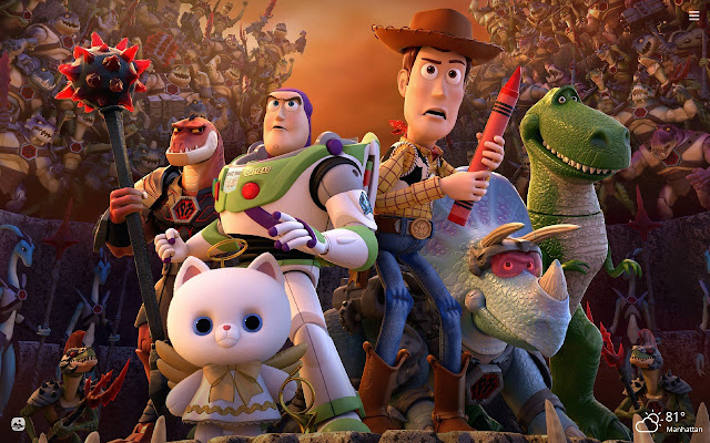 Toy Story HD Wallpapers New Tab