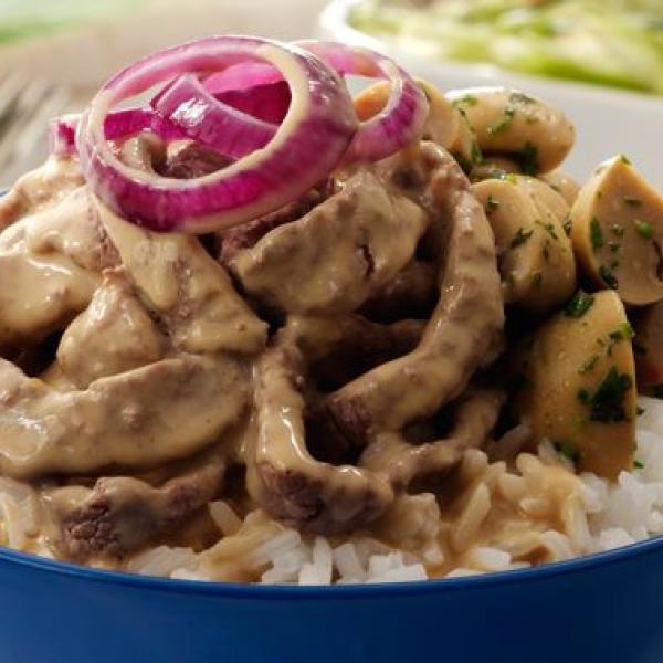 savory dishes with cream pinoy bistek