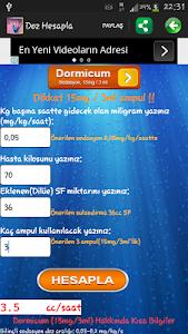 Doz Hesapla screenshot 3