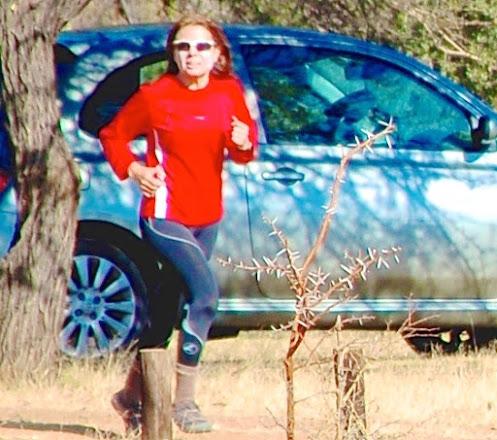 Photo: Trail race