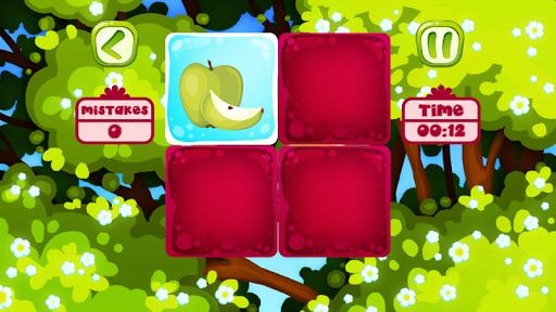 水果记忆游戏