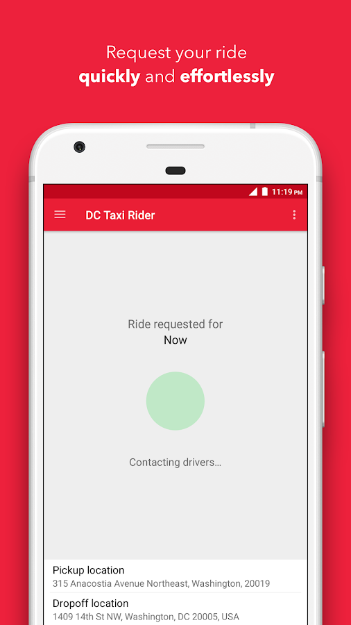 DC Taxi- screenshot