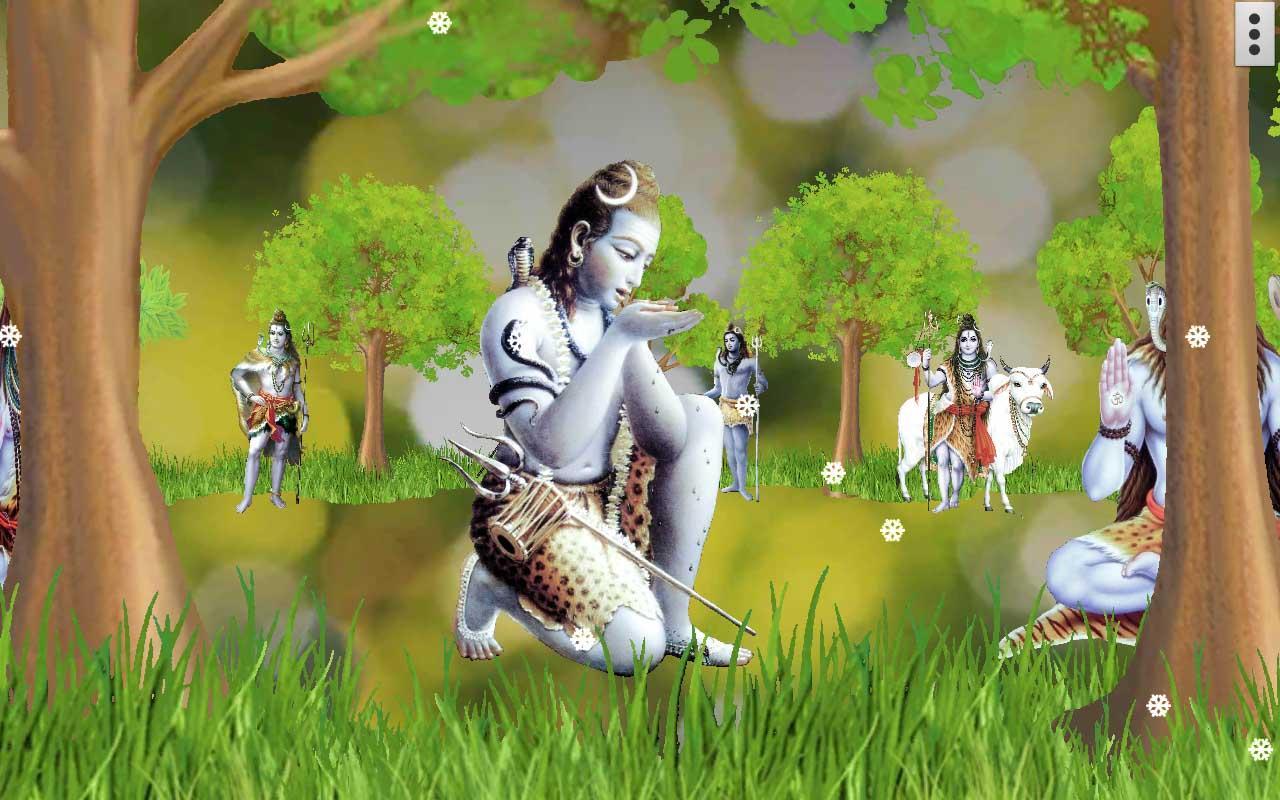 Wallpaper download karne ka app - 4d Shiva Live Wallpaper Screenshot