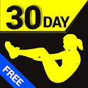 30 Day Abs Trainer Free icon