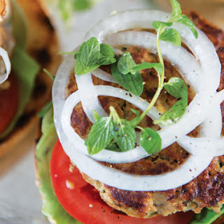 Chicken Avocado Burgers Recipe