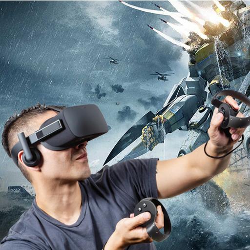 VR 비디오 플레이어 3D 媒體與影片 App LOGO-APP開箱王