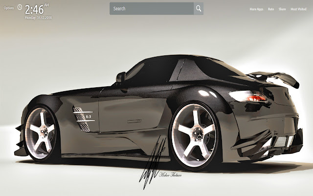 Mercedes Wallpapers Theme New Tab
