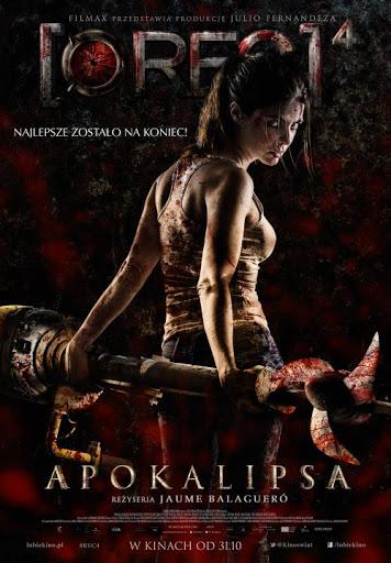 Polski plakat filmu '[REC] 4: Apokalipsa'