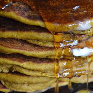 Seven Grain Pumpkin Pancakes.