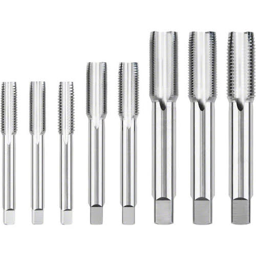 Park Tool 8-piece Thru Axle Tap Set for Frame and Fork