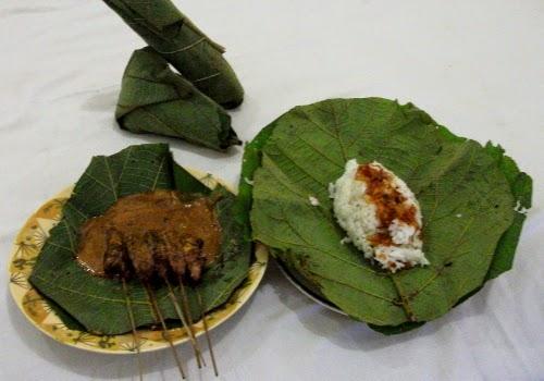 Blora satay: delicious meat, delicious rice