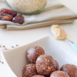 Salted Chocolate & Tahini Snack Balls