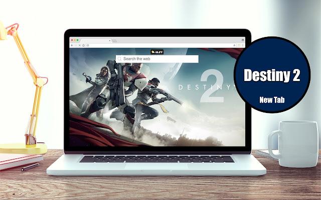 *NEW* HD Destiny 2 New Tab Theme