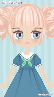 Cute Eyes Maker - かわいい目を作るメイクアップゲームのおすすめ画像2