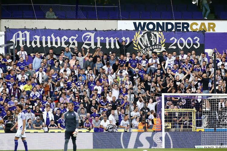 """Verdeeldheid tussen de supporters bij Anderlecht na boze brief: """"Geschreven zonder overleg"""""""