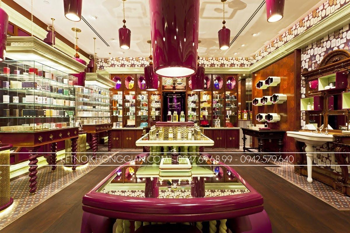 thiết kế cửa hàng nước hoa penhaligons 3