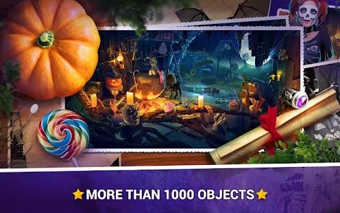 Halloween Skryté Předměty Hry - náhled