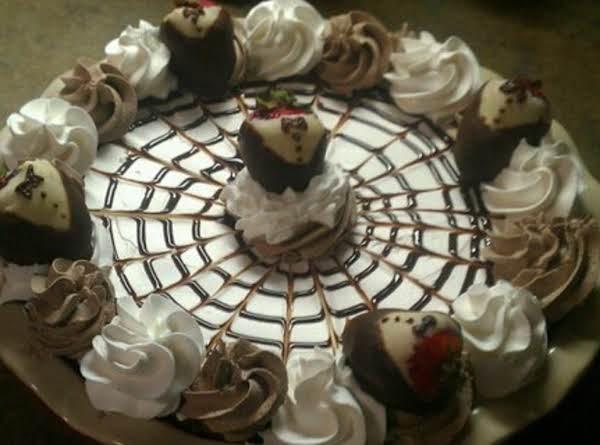 Strawberry Black Tie Pie