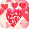 Happy Valentine Day theme icon
