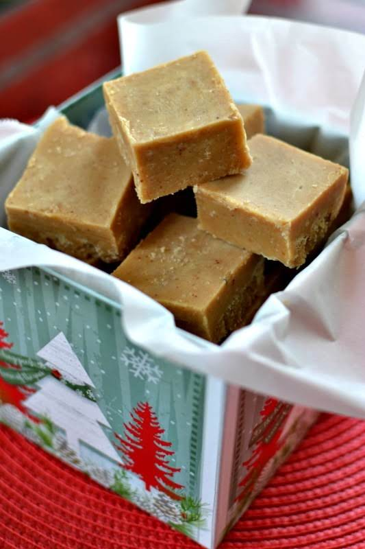 This Easy Microwave Peanut Butter Fudge Recipe Has Four Ingredients And Is Prepped In About Ten Minutes.