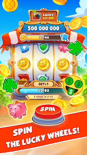 Spin Voyage: attack, build and get coins!