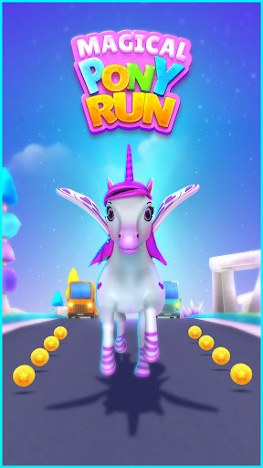 Magical Pony Run - Unicorn Runner screenshots 1