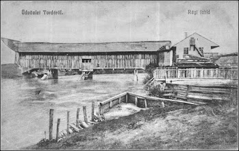 Photo: Podul de lemn - 1904 sursa: imaginivechi, Radu Cerghizan https://imaginivechi.files.wordpress.com/2010/06/213-podul-peste-aries-amontemalul-drept1904.jpg