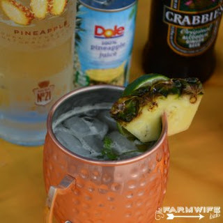 Pineapple Moscow Mule