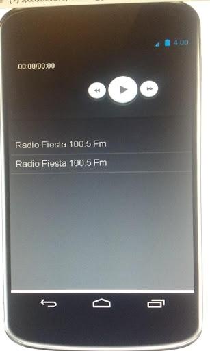 Radio Fiesta 100.5 Fm Android
