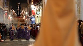 Semana Santa en Berja, en una imagen de archivo.