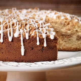 Spiced Pear & Walnut Coffee Cake