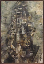 Photo: Georges BRAQUE - Man with a guitar