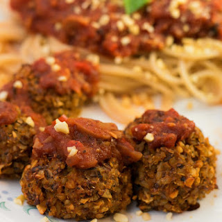 Vegan Italian Meatballs.