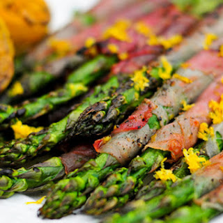 Asparagus Wrapped in Prosciutto with Lemon Recipe