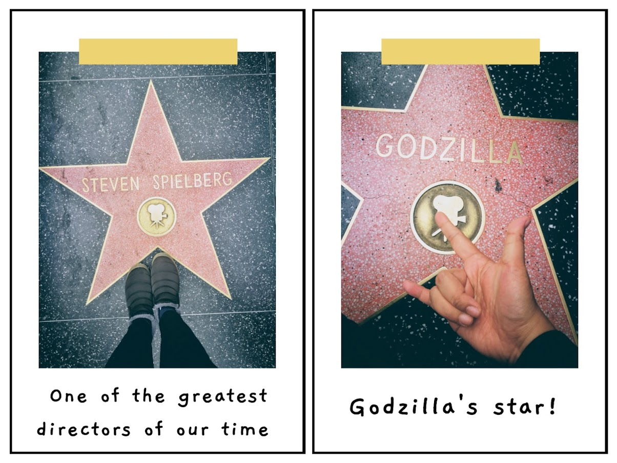 some of my favorite stars at the Hollywood Walk of Fame